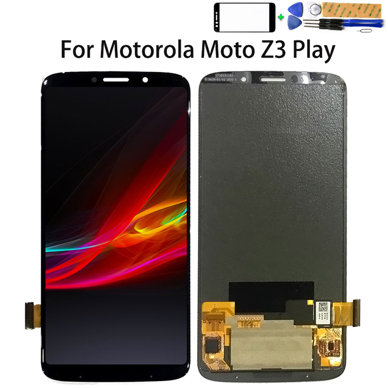 6.0 pouces écran pour Motorola Moto Z3 jouer LCD affichage écran tactile numériseur assemblée pièces de rechange pour Moto XT1929 LCD