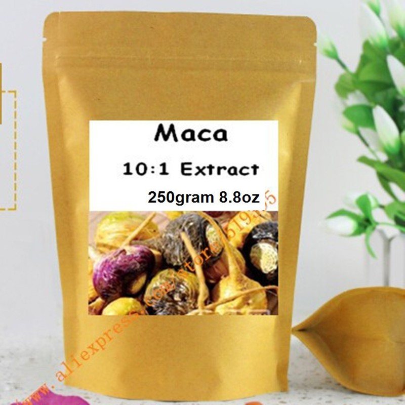 Maca Root Extract Powder 250gram 8.8oz, High Strength Extract Powder Libido And Sexual Support acanthopanax root extract powder