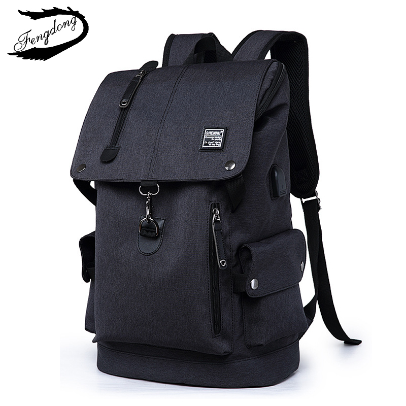Fashion Men Backpack Shoulder Bag Male Fashion Best Travel Backpacks Everyday Bagpack Laptop Bags For Teenager Boy Mochila 2019-in Backpacks from Luggage & Bags