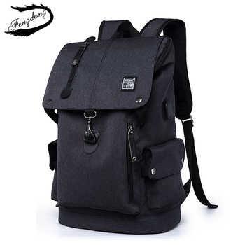 Fashion Men Backpack Shoulder Bag Male Fashion Best Travel Backpacks Everyday Bagpack Laptop Bags For Teenager Boy Mochila 2019 - DISCOUNT ITEM  50 OFF Luggage & Bags