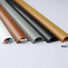 4 шт.(50 см/шт.) пластиковый шнур, кожух воздуховода, кабель для управления канатом, деревянный цвет для 3 проводов