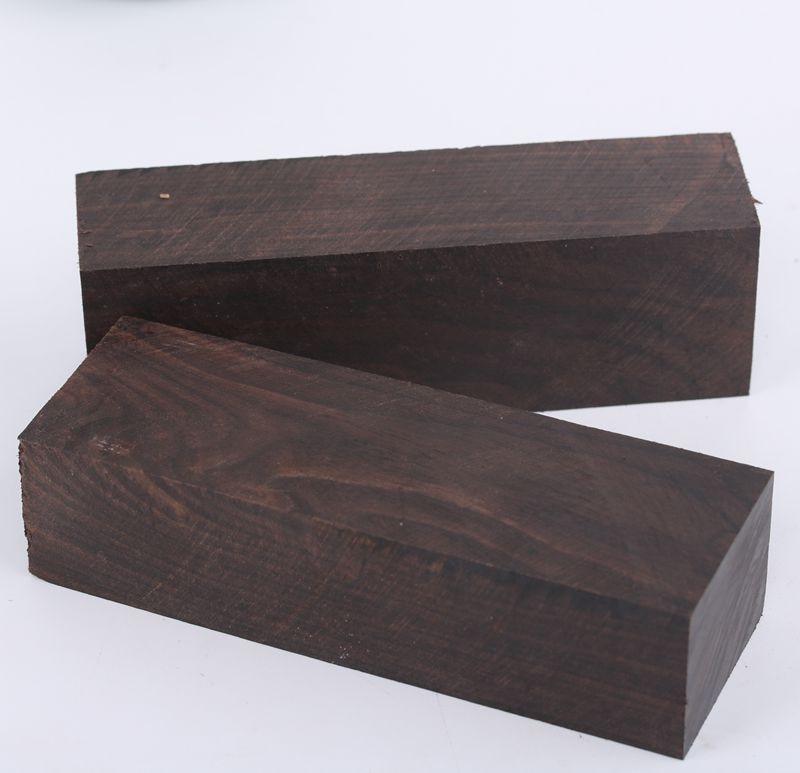 African Ebony Knife Handle's Material Wood Handle Parts Wood Blanks Guitar Parts Wood Pen Blank