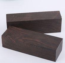African Ebony knife handles material wood handle parts Wood Blanks Guitar Parts pen blank
