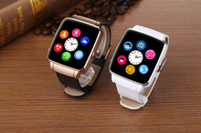 2015 neue Ankunft Top Smart Uhr X6 Smartwatch Unterstützung SIM TF karte Bluetooth WAP GPRS SMS MP3 MP4 USB Für iPhone Und Android