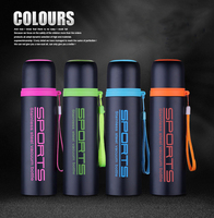High Quality 500ML Thermos Cup Vacuum Cup Double Wall Insulated Stainless Steel Water Bottle Vacuum Flask