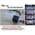 Para KIA Rio/K2/Pride Hatchback Carro de Estacionamento Inteligente faixas Câmera/HD Back up Reversa/Câmera de Visão Traseira câmera
