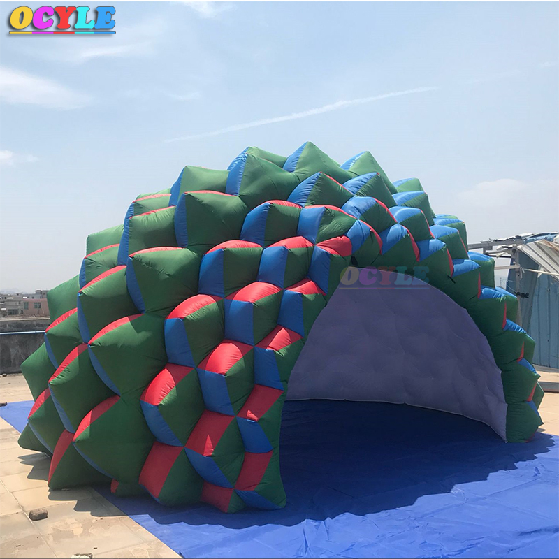 New 5.5mx5mx3m legs Thickening Inflatable spider tent Inflatable advertising tent Inflatable dome tent
