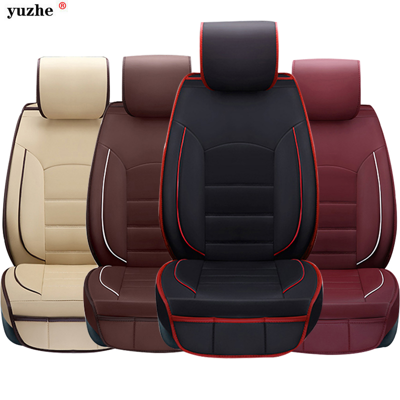 Yuzhe leather car <font><b>seat</b></font> cover For Subaru Tribeca Legacy Outback Impreza <font><b>Forester</b></font> Legacy Wagon JUSTY LEONE car accessories styling