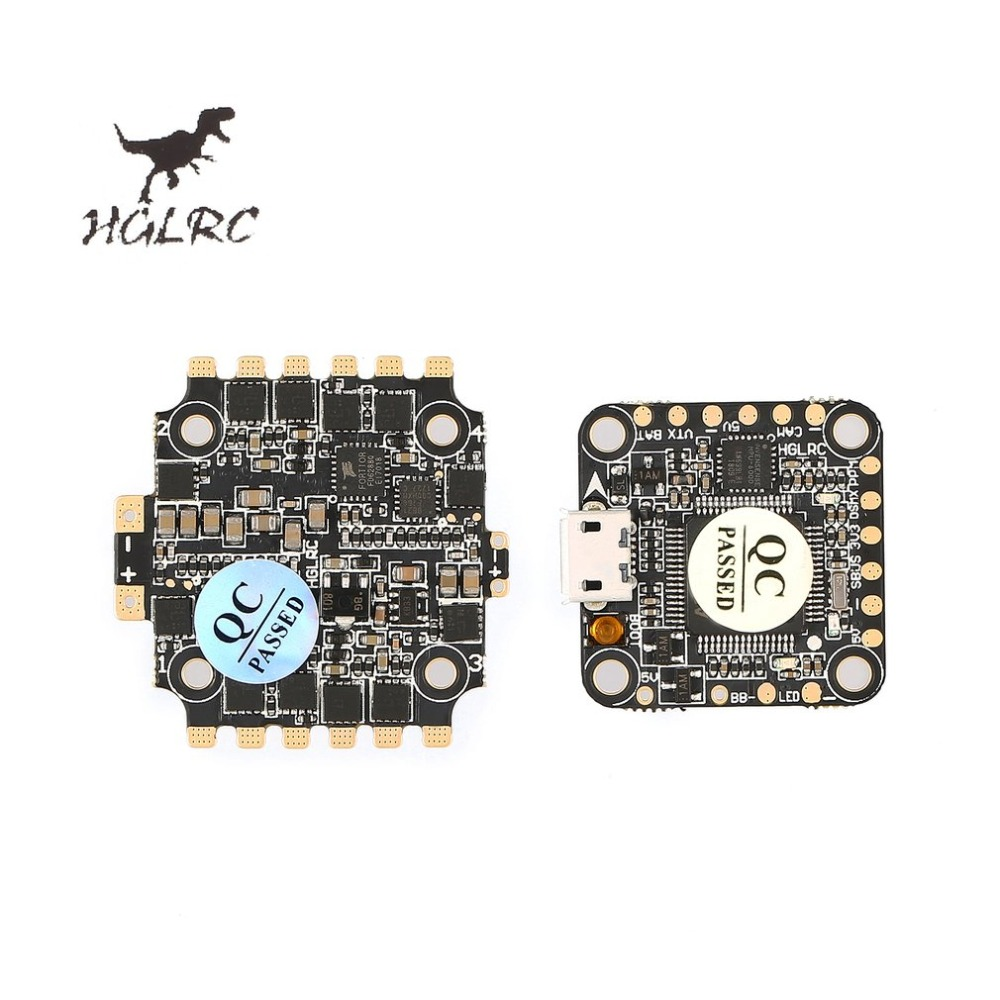 купить HGLRC XJB F428 Micro F4 AIO OSD BEC Flight Controller DSHOT Flight Control Tower Flytower 20x20mm &28A Blhel_S BB2 2-4S 4 in 1 онлайн