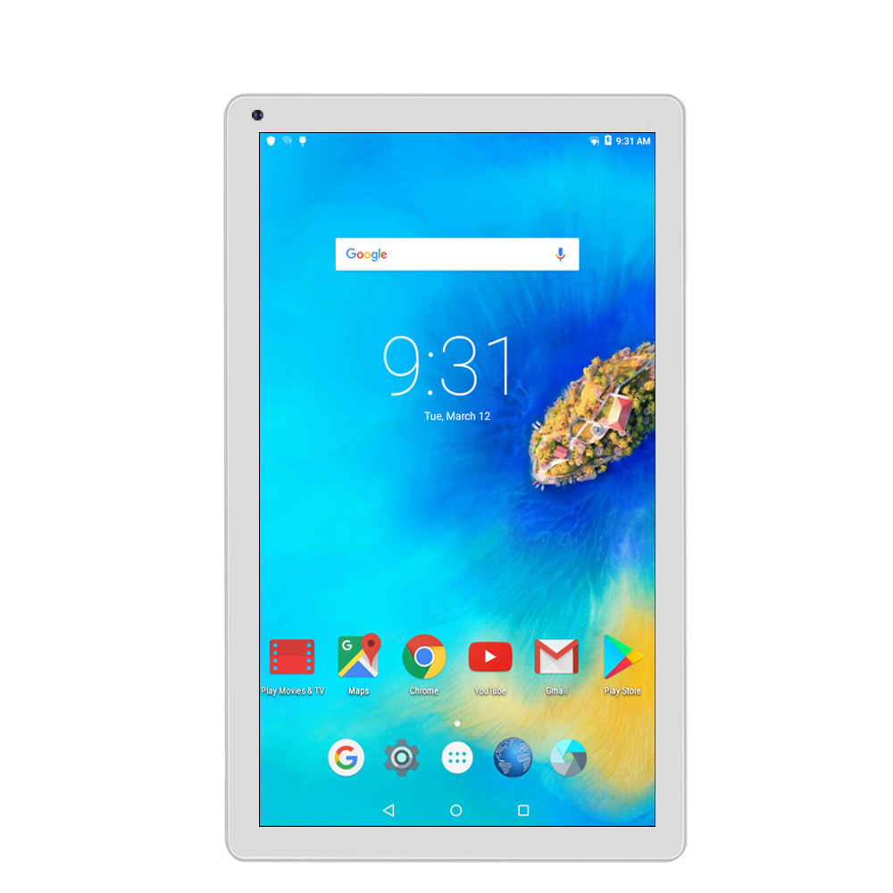 10 pulgadas Android 5,1 Tablet Pc Quad Core 1 GB de RAM + 32 GB ROM WiFi versión Tablet Pc 2Mp de las cámaras