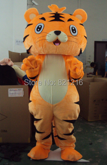 New tiger Mascot Costume Halloween party costume characters fancy dress Free Shipping