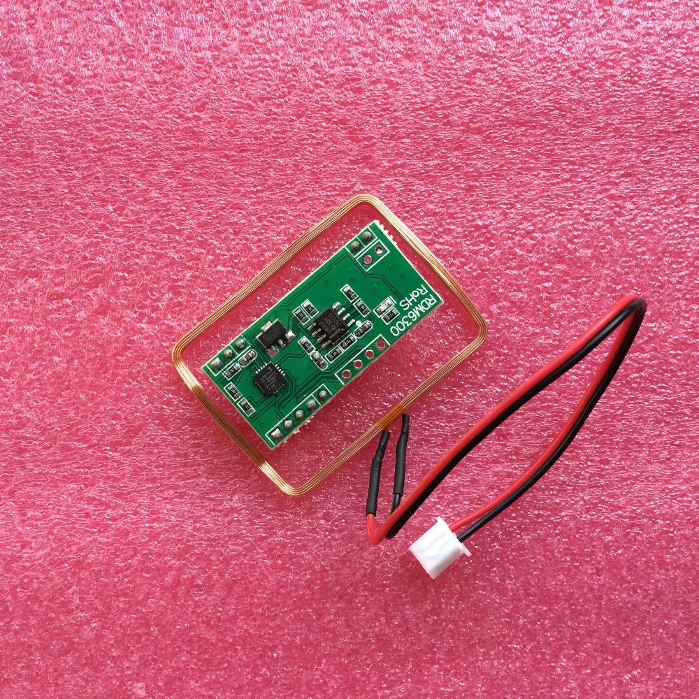 10pcs/lot UART 125Khz EM4100 RFID Card Key ID Reader Module