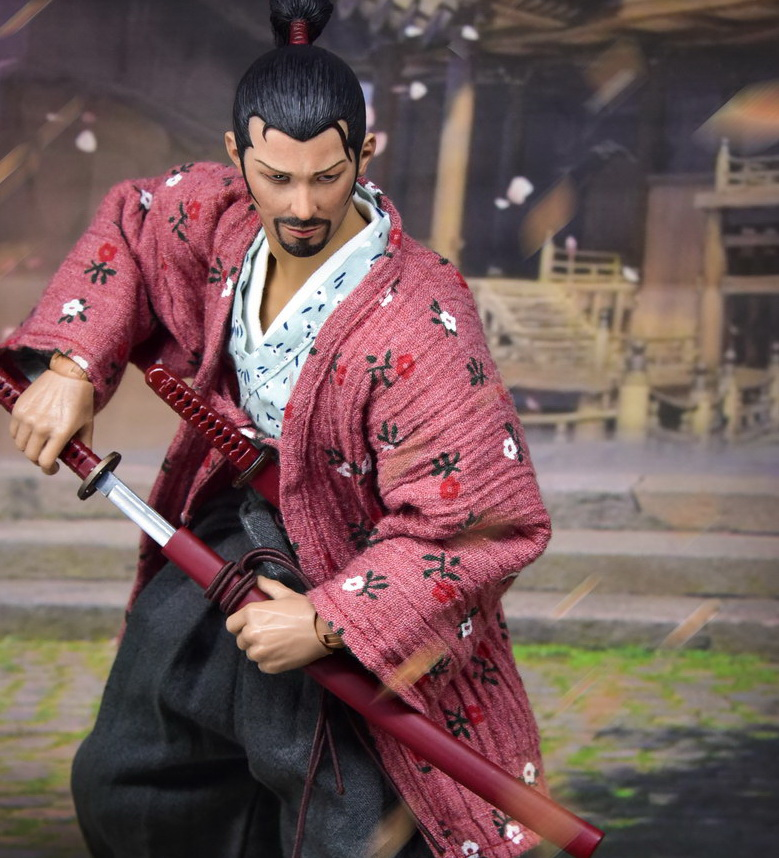 Lonely Ronin Japanese Samurai Action Figure 1//6 Scale WolfKing WK89017A USA