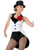 Professional Jazz Costumes Dress Leotards For Girls Women Gymnastics Leotard Adult Dancewear Stage Performance Costumes Magician