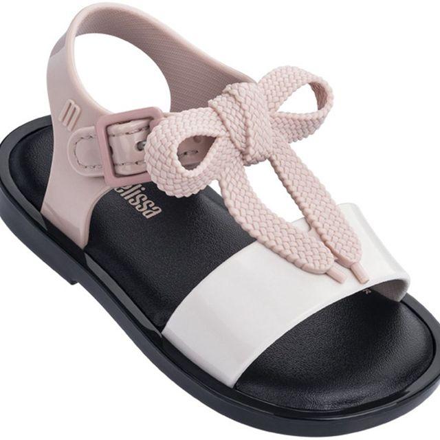 2019 New Summer Melissa Jelly Style Mini Shoes Girl Non-slip Kids Beach Sandal Toddler shoe Soft Sandals