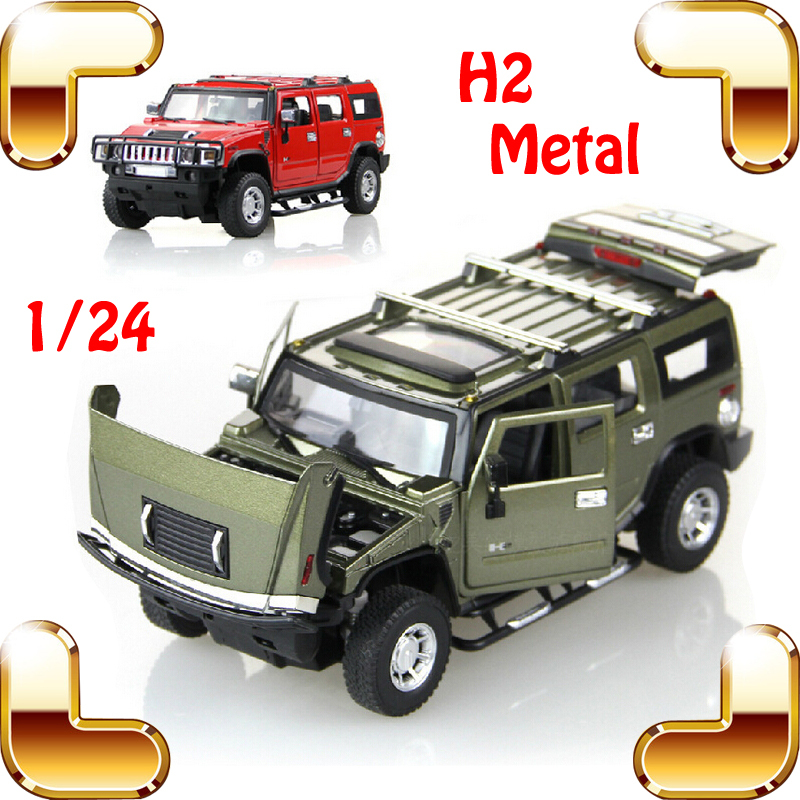 New Arrival Gift MZ H2 1/24 Metal Model Car Simulation Jeep Openable Doors Alloy Vehicle Fans Collection House Decoration Toys new year gift jeep wrangler sahara 1 18 model metal jeep vehicle scale simulation toys alloy car collection large suv die cast