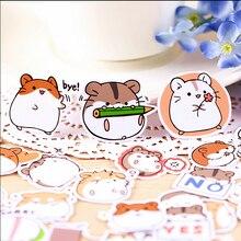 40pcs Creative cute self-made hamster stickers / scrapbooking stickers /decorative sticker /DIY craft photo albums
