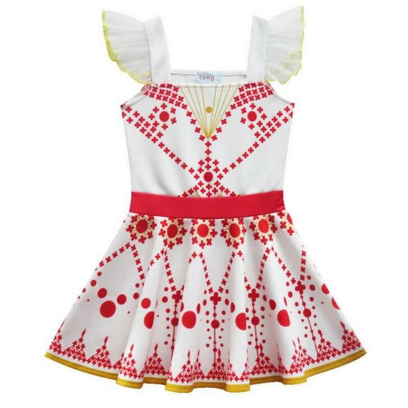 Tonlinker prinses meisjes ballet dansende jurk vliegende mouw - Carnavalskostuums