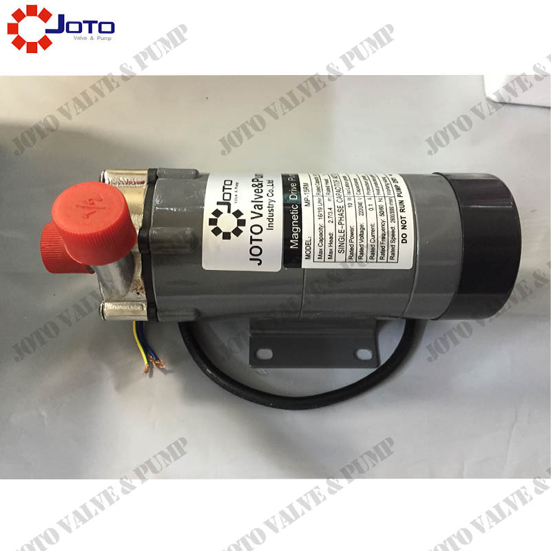 Stainless Steel Thread Interface MP-15RM 10W 50/60HZ 220V Magnetic Drive pump china manufacturer stainless steel 316 8cqb 3 magnetic drive pump 220v