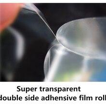 """1""""- 50"""" супер прозрачный двухсторонний клейкий рулон для производства больших стеклянных фотографий"""