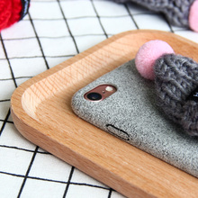 Plush Hat Case for iPhone