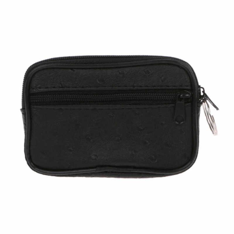 Мини мягкий мужской женский футляр для монет и ключей кошелек на молнии сумка кошелек подарок