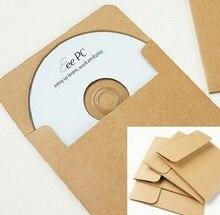 Kraft CD Paper Case Bag,Blank CD/DVD Gift Papar Bag