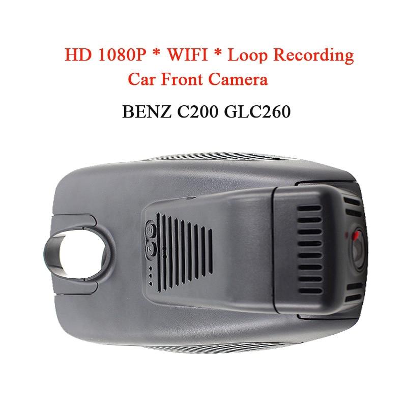 WIFI Waterproof HD 1080P Car DVR Camera Night Vision Front Camera For BENZ C200 Car DVD Monitor Recorder GPS Loop Recording plusobd car recorder rearview mirror camera hd dvr for bmw x1 e90 e91 e87 e84 car black box 1080p with g sensor loop recording
