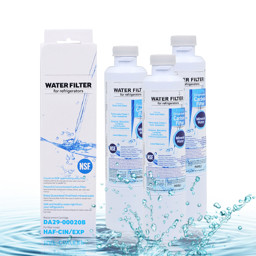 HOT Free Shipping Carbon Refrigerator Water Purifier Filter Replacement for Sansung DA29 00020B Refrigerator Filter 3