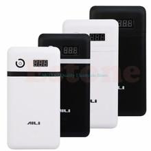 モバイル電源銀行 20 v ups 6 18650 バッテリー充電器ノート pc スマートフォンドロップ無料