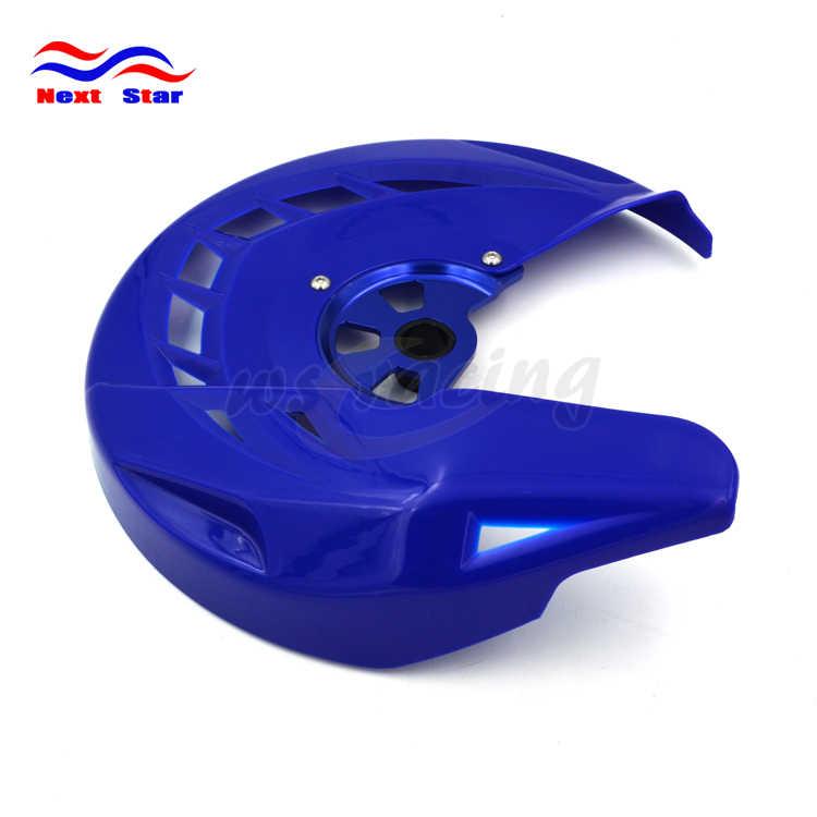 Off Road Motos Freio Dianteiro Disco Rotor Guard Protector Capa para YAHAMA YZF250 YZ250F YZ450F 2014 2015 YZ250FX YZF250X X 15