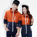 1PC Spring Autumn Jacket Women Hooded Jacket Men Windbreaker Outwear Coat Jaqueta Feminina Masculina ZZ3542