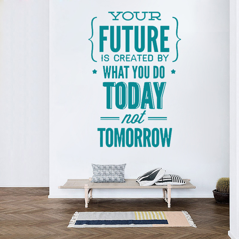 wall stickers for office. aliexpresscom buy t07061 kids room decoration stickers inspirational quotes wall office decor home work hard to gain more from for