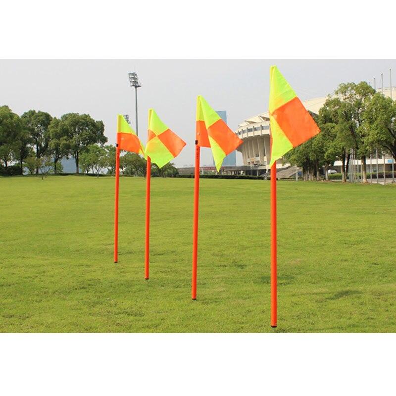 Drapeau de coin de Football de qualité MAICCA drapeaux d'arbitre de Football en gros paquet de 4 pièces