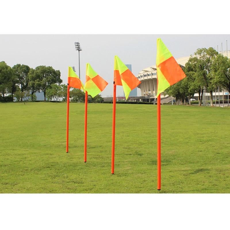 MAICCA Calcio di qualità bandierina del corner arbitro di Calcio bandiere all'ingrosso 4 pz pack