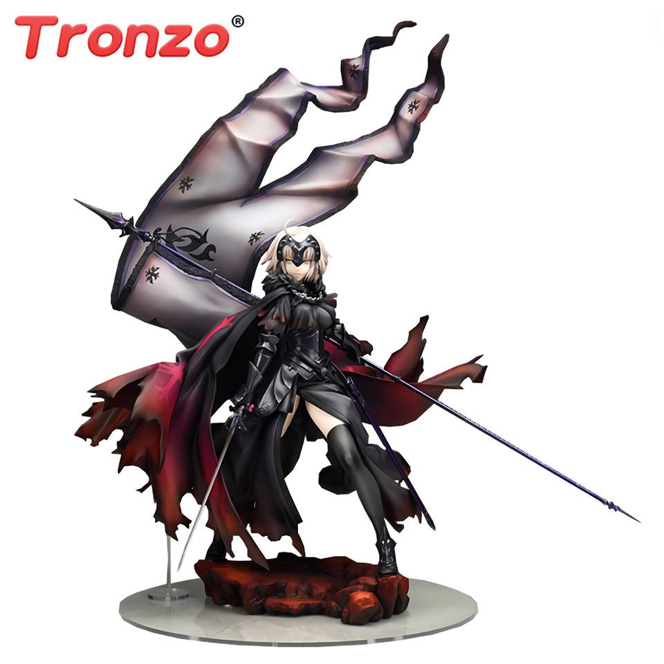 Tronzo Fate Grand Order Jeanne D'Arc Alter PVC การกระทำรูปของเล่น FGO Avenger Jeanne Alter Figurine สะสมตุ๊กตาของเล่น-ใน ฟิกเกอร์แอคชันและของเล่น จาก ของเล่นและงานอดิเรก บน   1