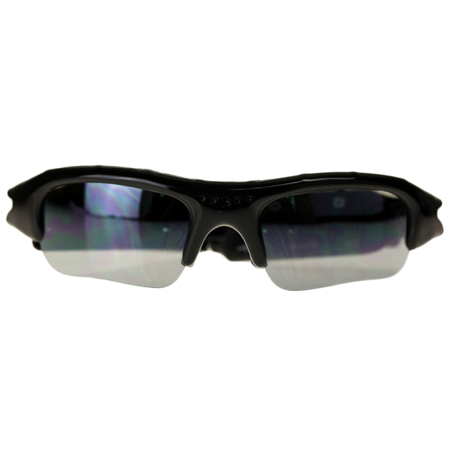 Mini DV DVR Sunglasses Camera Recorder Outdoor Sports Sunglasses 720P HD Black
