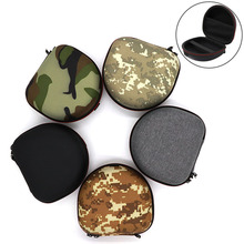 Shockproof Folded Headphone Hard Case EVA Bag for Marshall Major I II III with Inner Mesh Pocket Camo Carabiner Protective Cover