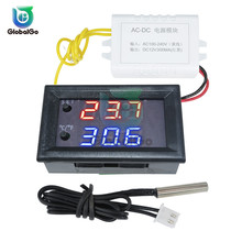 W1209WK W1219 LED Digital Temperature Control Controller Switch 30CM NTC Sensor DC 12V AC110-220V Thermostat Regulator Tool