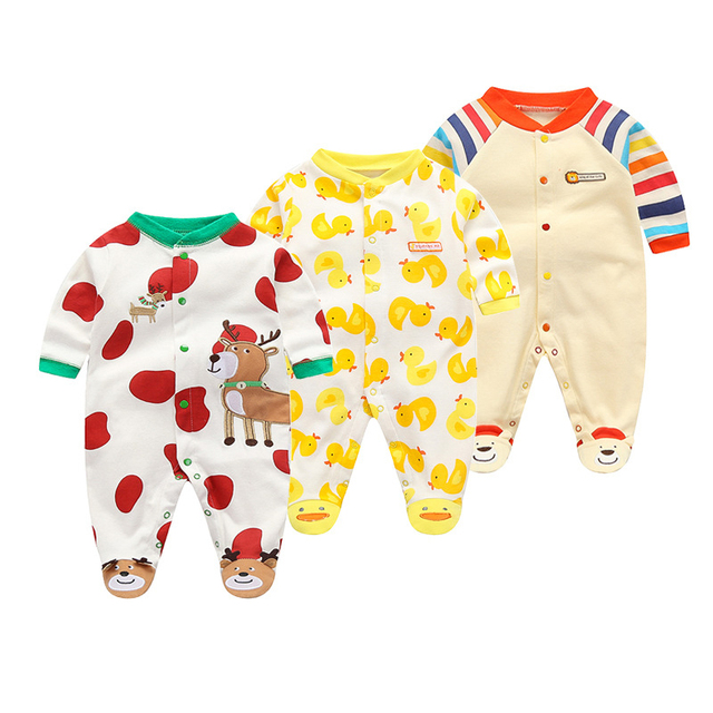 631aed2ee toddle girls rompers 2018 autumn baby boys jumpsuit fashion cotton ...