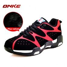 Onke Winter Sneaker Boots Men Running Shoes Outdoor Women Sports Snow Shoe Waterproof Sneakers for Male Warm Fur Zapatillas 9298