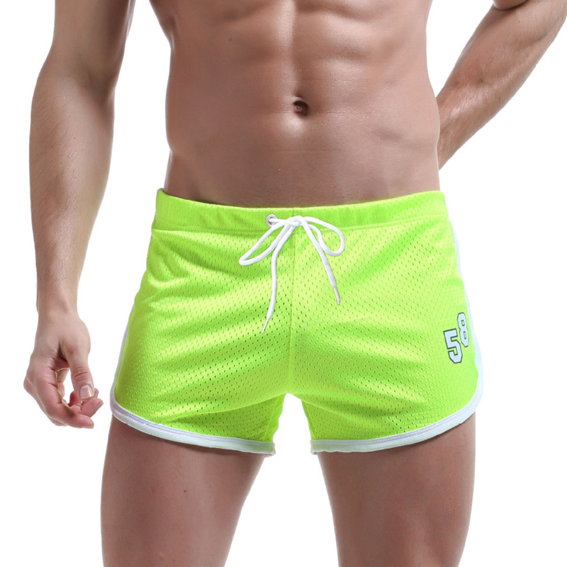 Mesh Short Mens Shorts Quick Dry Men's Shorts Sportswear Fitness Sports Trousers Summer Casual Free Panties Swims Trunks Men