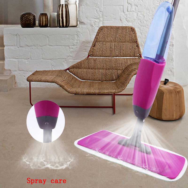 Hand wash spray Water spray Lazy Home Flat mop ceramic tile Solid wood dedicated