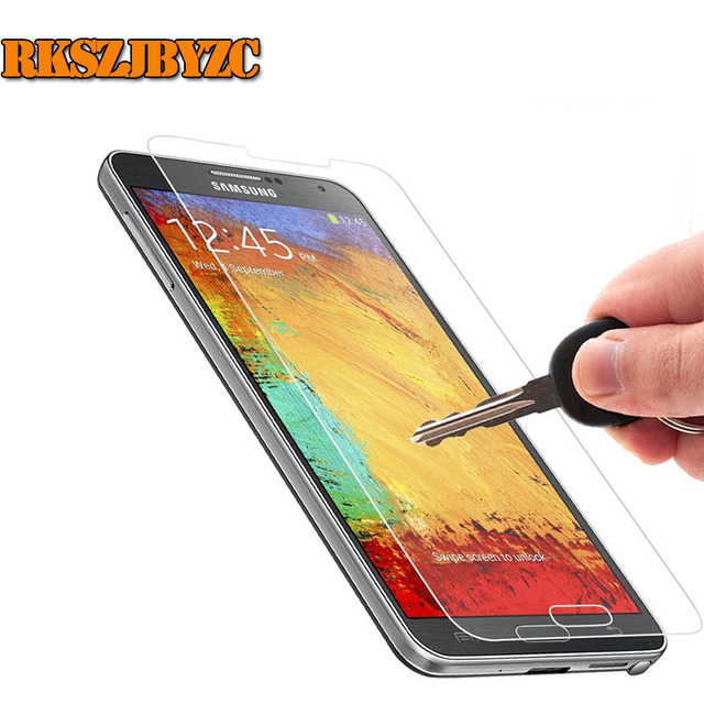 0.2 MM 2.5D 9 H Temperli Cam Ekran Koruyucu koruyucu Güvenlik Kalkanı Film için Samsung Galaxy Not 2 3 4 5 S3 S4 S5 mini S6 S7