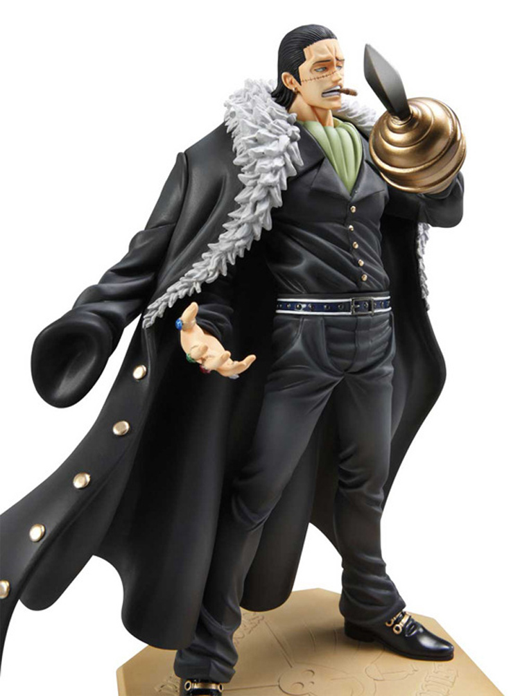 10 26cm Japanese anime figure One Piece Anime P.O.P DX Shichibukai Sir Crocodile PVC Action Figure Model Collection Toy Gift anime one piece dracula mihawk model garage kit pvc action figure classic collection toy doll