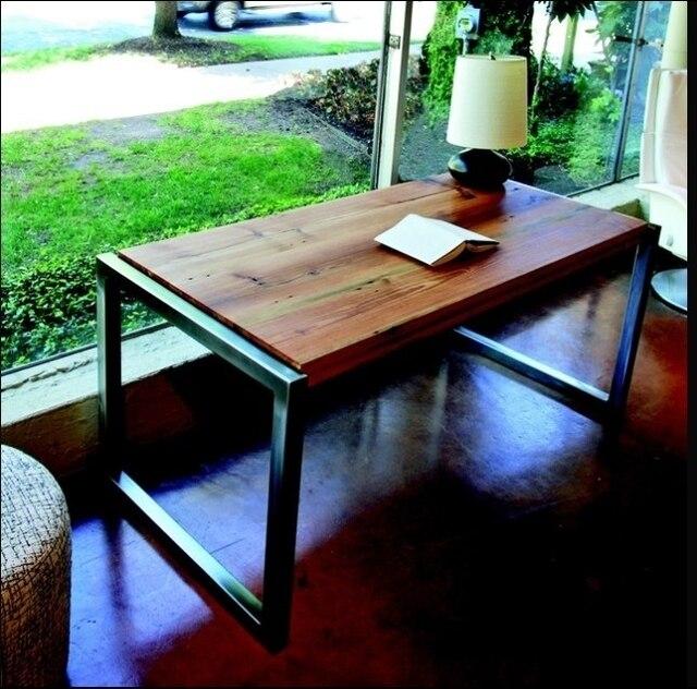 American Iron Desk Coffee Minimalist Retro Wood To Do The Old Fish Tank  Coffee Table A
