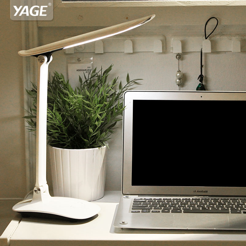 YAGE Desk Lamp Led Table Lamp book Light night light reading light for Study Lamp for Work Non-Limit Brightness Touch On / Off portable dc5v mini usb led ceiling lamp for desk reading lamp camping book with switch on off emergency night light toys gifts