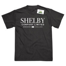 Shelby Company Limited Inspired by Peaky Blinders Printed T-Shirts Top Tee 100% Cotton Humor Men Crewneck Shirts Black Style