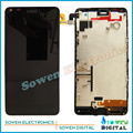 LCD display screen with touch screen digitizer with frame assembly full set for Nokia Microsoft Lumia 640 ,100%  new