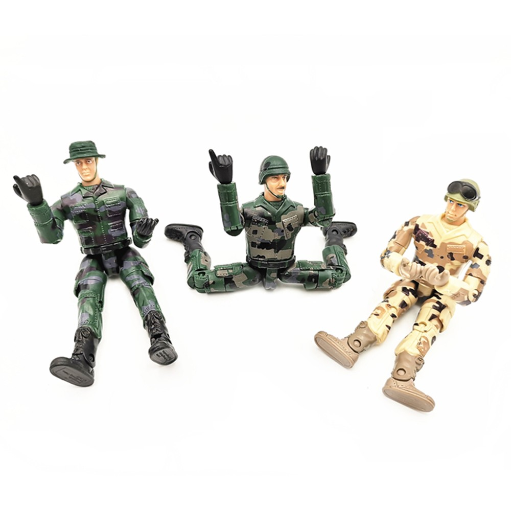 Police Adjustable 4PCS Soldier 10